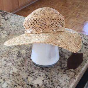 NEW Peter Grimm rattan hat